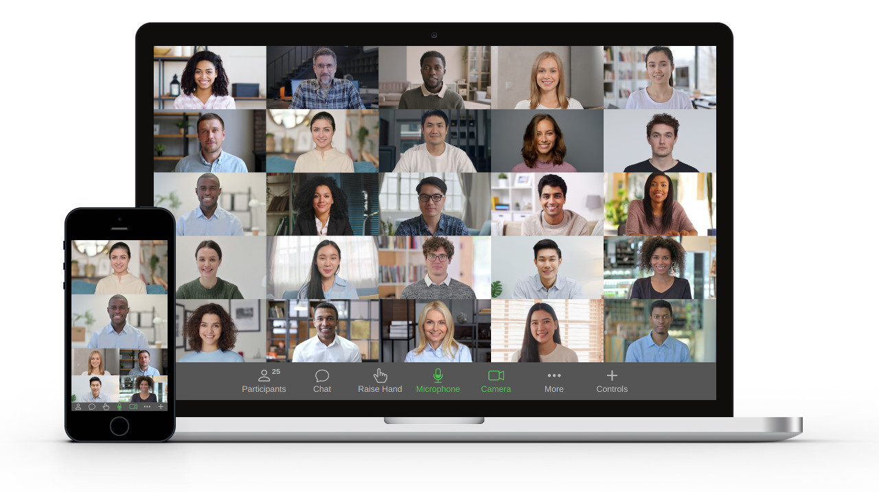 Host a webinar, teach your students or meet with your colleagues. Unicko is suitable for audiences of any size, across all devices.